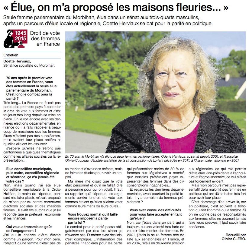 Femmes en politique-ItwOdette Herviaux