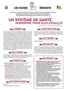 fiche 17 systeme de sante modernise