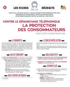 fiche 21 protection consommateurs telephone