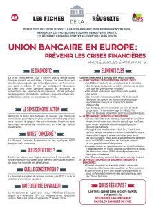 fiche 46 union bancaire