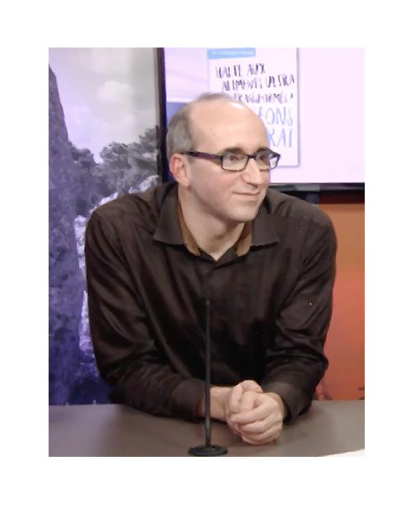 Maxime PICARD, Premier secrétaire fédéral du PS - Morbihan, plateau TV Tebesud - 23 janvier 2018
