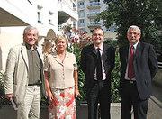 Hervé Pellois, Paul Paboeuf, Gwendal Rouillard, Odette herviaux