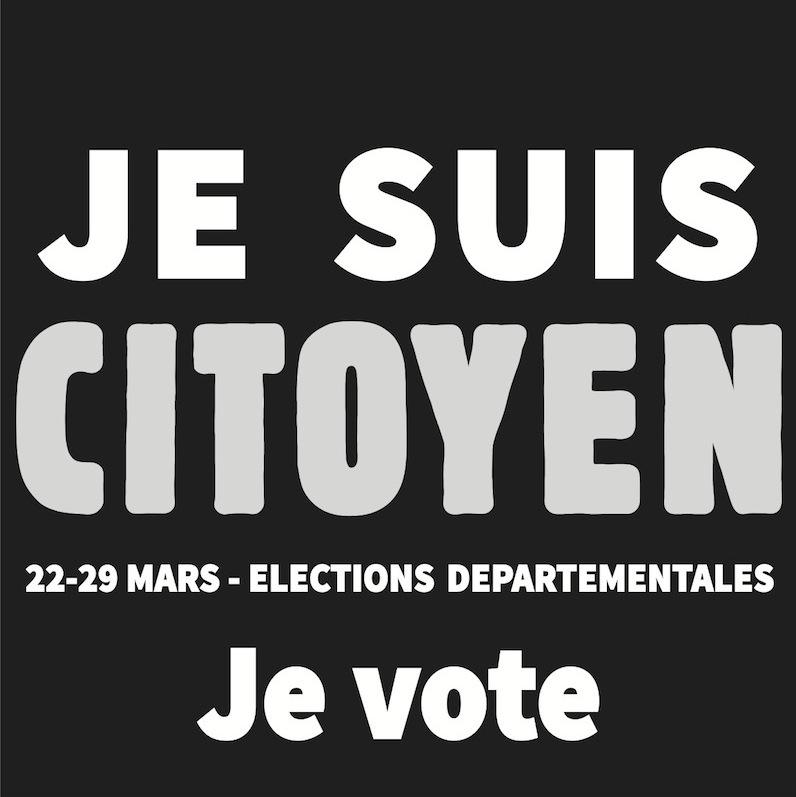Je suis citoyen je vote