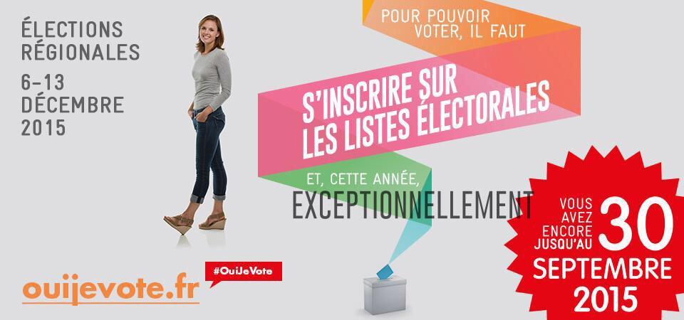 Oui Je vote