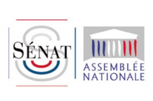 double logo AN Senat